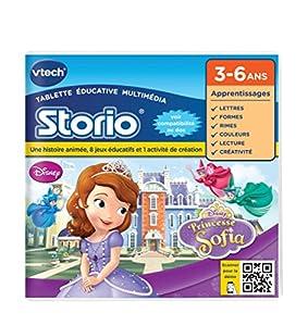 Vtech - 232005 - Storio 2 et générations suivantes - Jeu éducatif - Sofia
