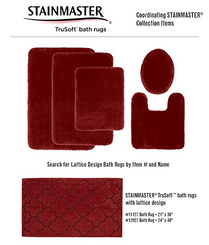 STAINMASTER TruSoft Luxurious Bath Toilet Lid Rug