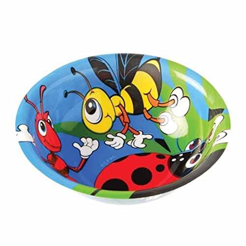 Dozen Bug Insect Design Plastic Party Bowls - 1
