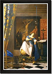 Framed Art Poster 20x30, Allegory of the Catholic Faith