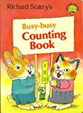 Busy Busy Counting Book (Colour Cubs) (0001232738) by Scarry, Richard