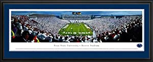 Pennsylvania State Nittany Lions - Beaver Stadium - White Out - Framed Poster Print by Laminated Visuals