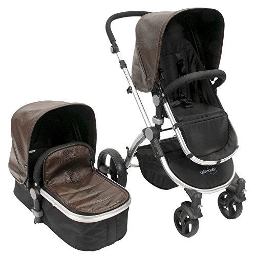 babyroues Letour Lux II Classique Stroller, Lizard Cocoa