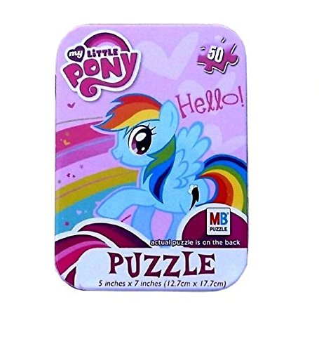 My Little Pony 50 Piece Jigsaw Puzzle in Travel Tin