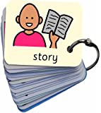 Early Years Activities Picture Exchange Communication Keyring (AAC / ASD) Visual Aid Resource