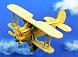 Kids Classic Wood Model Plane Play Toy Airplane Boys Builder Legends of The Air