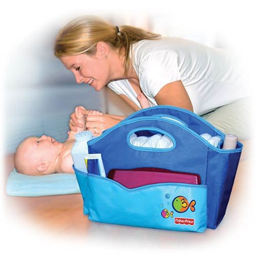 Ocean Wonders Portable Bath and Changing Caddy - 1