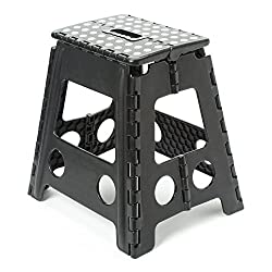 Foldable Stool For Stepping Up Or Sitting