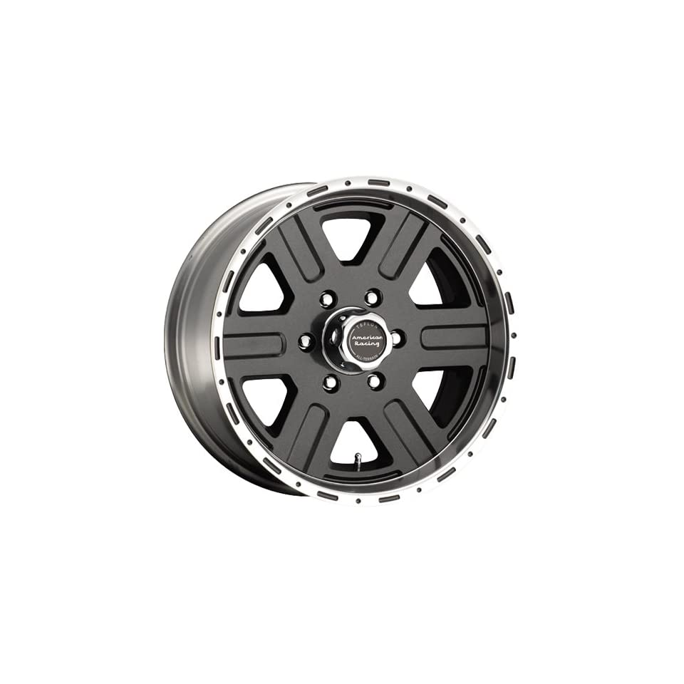 American Racing ATX Victor 17x8 Teflon Wheel / Rim 6x135 with a 0mm Offset and a 0.00 Hub Bore. Partnumber AX3677836