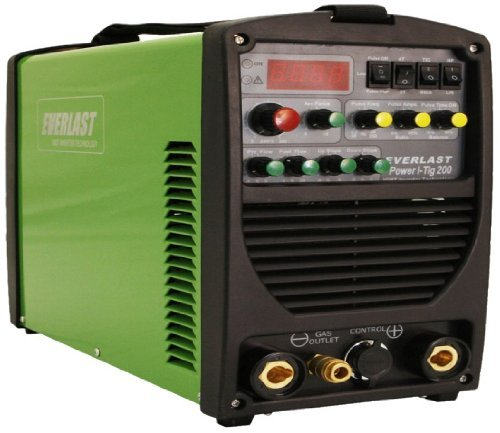 51vCMLnVvQL Everlast Power ITig 200 DC Stick TIG Welder 110v/220v