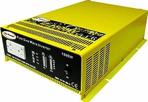 Go Power! GP-SW1500-12 1500-Watt Pure Sine Wave Inverter by Go Power!