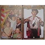 """Norman Rockwell """"America"""" Collection 500-piece Puzzles, 4-pack Assortment, Limited Edition"""