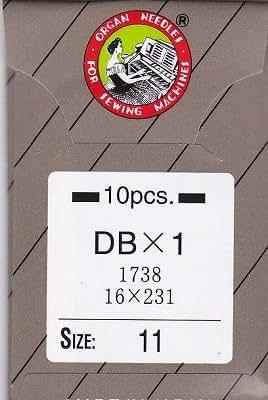 オルガンミシン針 No11 工業用 (DB) 1袋(10本入)