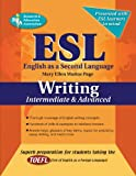 img - for ESL Intermediate/Advanced Writing (English as a Second Language Series) book / textbook / text book