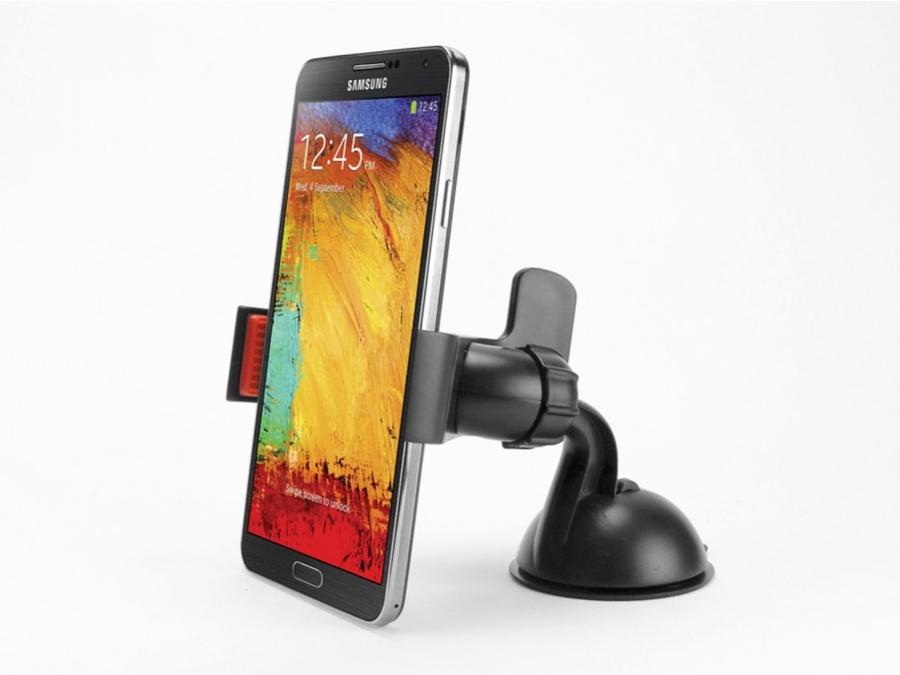 Cellet Dashboard / Windshield Car Mount Phone Holder for Samsung Galaxy Note 3 Neo - Black