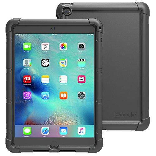 iPad Mini 4 Case - Poetic [Turtle Skin Series] iPad Mini 4 (4th Gen) Case- [Corner/Bumper Protection] [Grip] [Sound-Amplification] Protective Silicone Case for Apple iPad Mini 4 Black (3 Year Manufacturer Warranty From Poetic) (Ipad Mini Protective Skin compare prices)