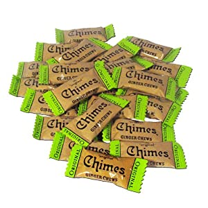 Chimes Original Ginger Chews, 5-pound Box