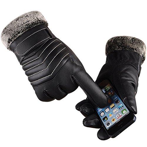 jqam-pu-cuir-hiver-casual-lave-a-leau-en-plein-air-velo-tactile-hommes-gants-chauds-epais-hair-mouth