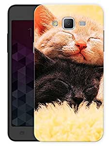 """Humor Gang Cute Kitty Cats Printed Designer Mobile Back Cover For """"Samsung Galaxy J5"""" (3D, Matte, Premium Quality Snap On Case)"""