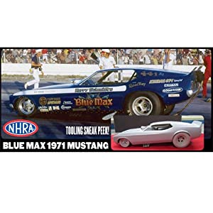 Blue Max Mustang funny car - Drag Racing Models - Model Cars Magazine ...