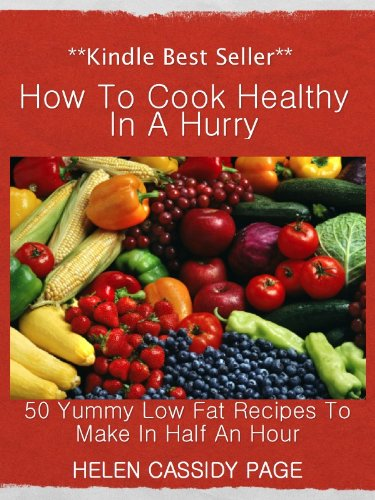 How to Cook Healthy in a Hurry cover