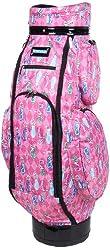 Sydney Love Pink Golf Duffle Bag