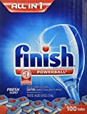 Finish Powerball All in 1 Fresh Scent 100 Count Tabs