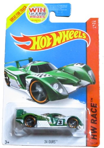 Hot Wheels HW Race 2014 Track Aces - 164/250 - 24 Ours (Green)