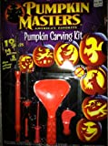 Pumpkin Masters Classic Carving Pumpkin Carving Kit, 19 Pieces (Patterns may vary)