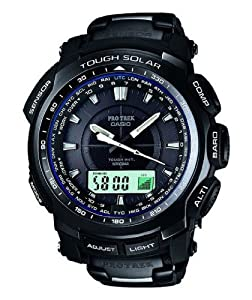 Casio - Protrek - PRW5100YT-1 Atomic/Solar watch with Titanium Bracelet