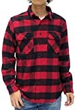 (ルーシャット) ROUSHATTE シャツ メンズ 長袖 チェックシャツ 16color M チェック3