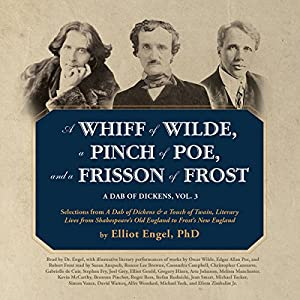 A Whiff of Wilde, a Pinch of Poe, and a Frisson of Frost Audiobook