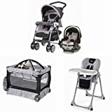 Chicco Matching Stroller System High Chair and Play Yard Combo - Romantic