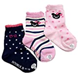 ダブルB(mikihouse) 3Pソックスパック 靴下 (15-17cm, クルー-ピンク(08))