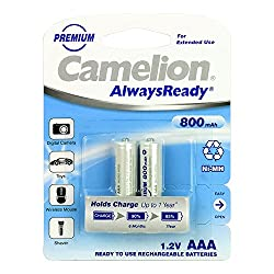 Camelion NH-AA800ARBP2 Rechargeable Battery