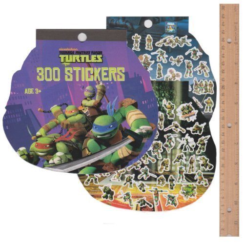Teenage Mutant Ninja Turtles Sticker Book (8 sheets)