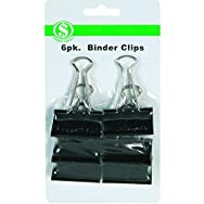 Do it Best GS 10206 Binder Clip - Smart Savers-6CT XL BINDER CLIPS