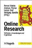 img - for Online- Research. Methoden, Anwendungen und Ergebnisse. book / textbook / text book