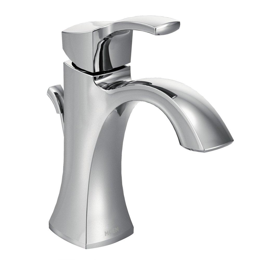 One-Handle High Arc Bathroom Faucet