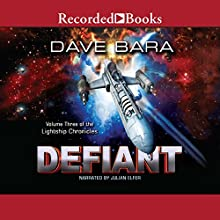 Defiant Audiobook by Dave Bara Narrated by Julian Elfer