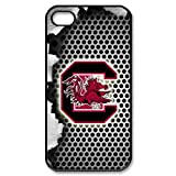 South Carolina Gamecocks Honeycomb Logo iPhone 4 4S Here Comes Amazing hard Cover Case at Amazon.com