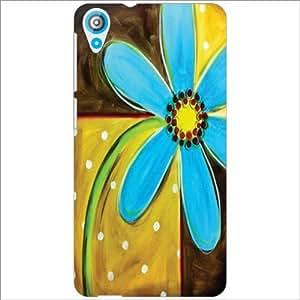 HTC Desire 820Q Back Cover - Blue Designer Cases