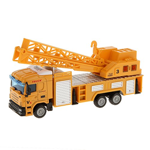 【ノーブランド 品】モデルカー モデルトラック クレーンリフタートラック ...
