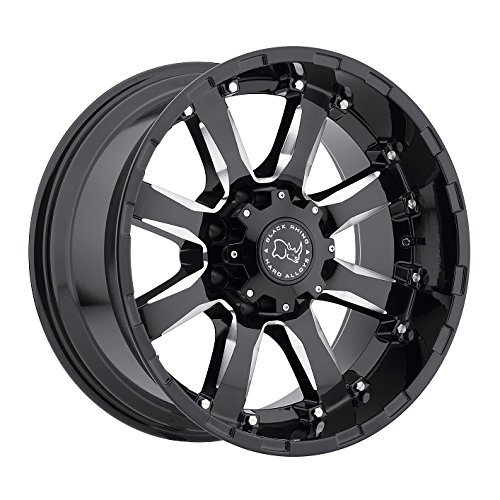 Black Rhino SIERRA Black Wheel (20x10