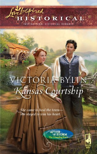 Image of Kansas Courtship (After the Storm: The Founding Years) (Love Inspired Historical)