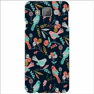 Printland Designer Back Cover for Samsung Galaxy E5 Case Cover