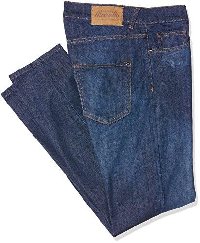 Frankie Morello Aberdeen, Jeans a Gamba Dritta Uomo, Blu (Blu Denim), 50 (Taglia Produttore:36)