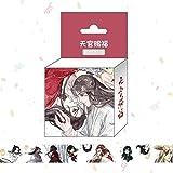 50cm Mo Dao Zu Shi Cartoon Figure Pillow Wei Wuxian LanWangji Doll Bolster Pillow Anime Around Color/Size : 2