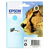 Epson T0712 Cartouche d&#39;encre d&#39;origine DURABrite Ultra cyan pour D78 D92 DX4050 4450 5050 6050 7000Fpar Epson