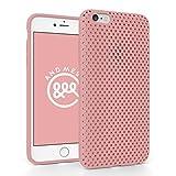iPhone 6 Plus メッシュ ケース AndMesh Mesh Case for iPhone 6 Plus 日本製 エラストマー ソフトケース 割れない傷つかない優しい質感 Pink 桜 ピンク | AMMSC610-PNK